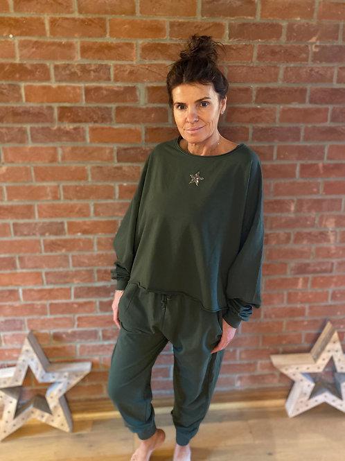 Star Lounge Suit - Khaki