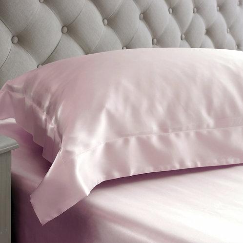 Silk Housewife Pillowcase - Pink