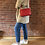 Thumbnail: Leather Camera Bag - Red
