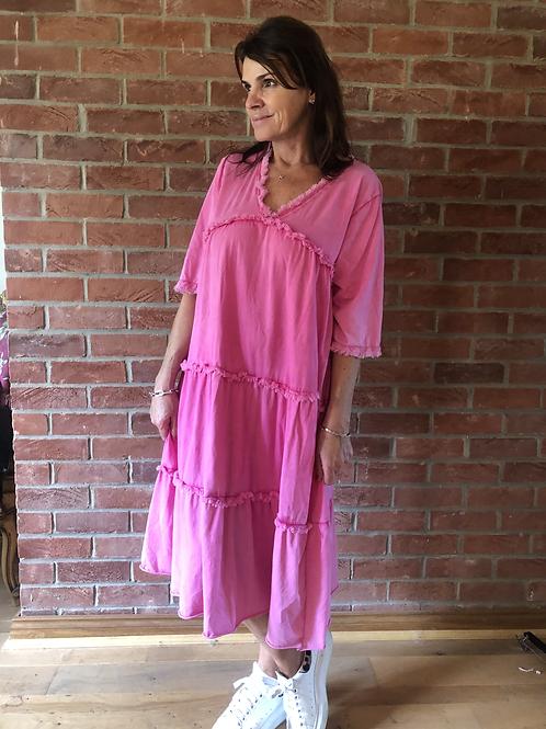 Mia Dress - Pink