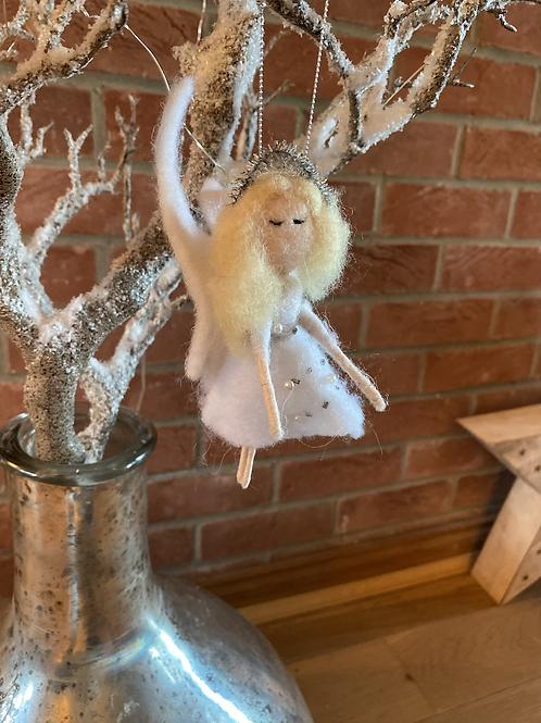 Hanging Felt Angel