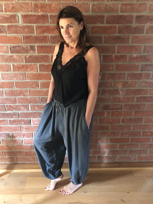Oversized Jogger -Charcoal