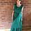Thumbnail: Frill Maxi Dress - Emerald Green