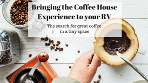 Bringing the coffee house experience to your tiny home or RV