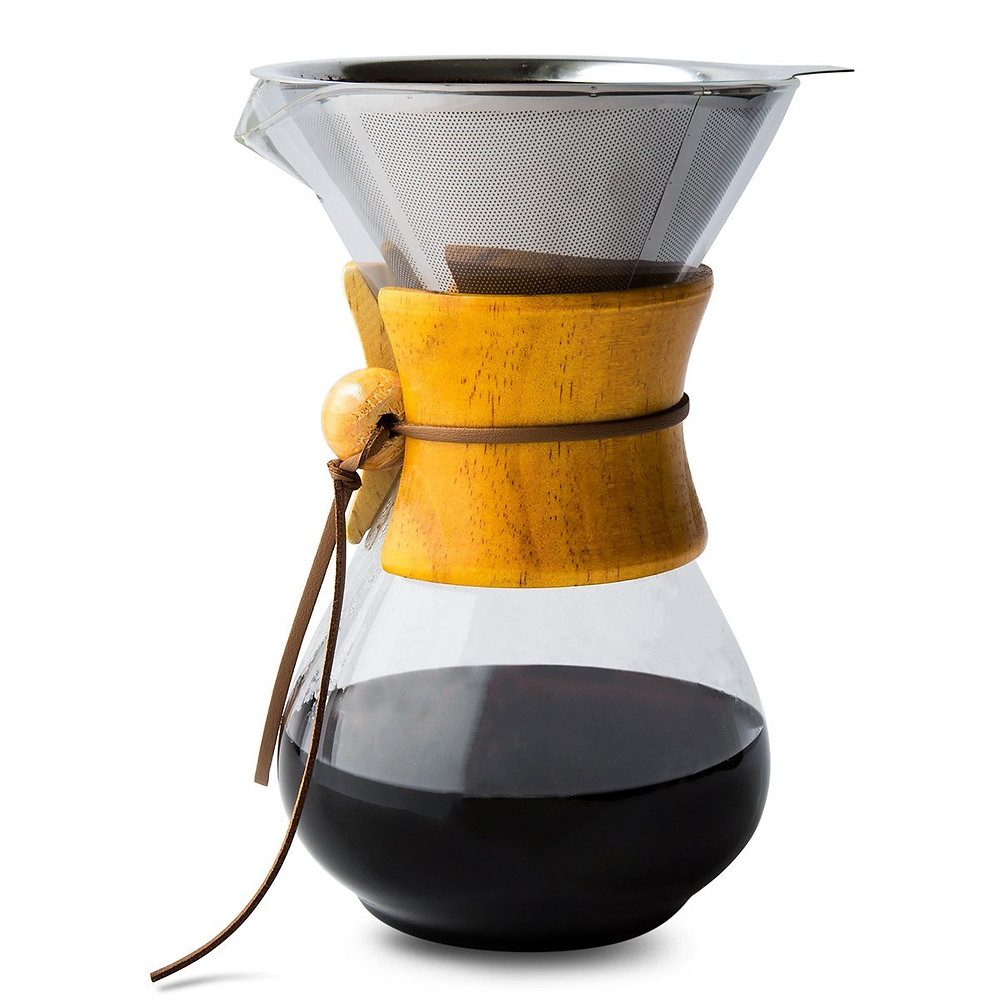 Pour over coffee makers are great solution in an rv