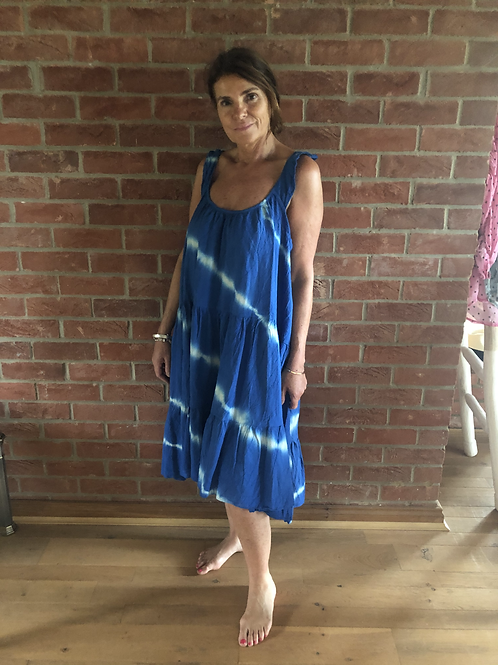 Tie Dye Dress- Blue