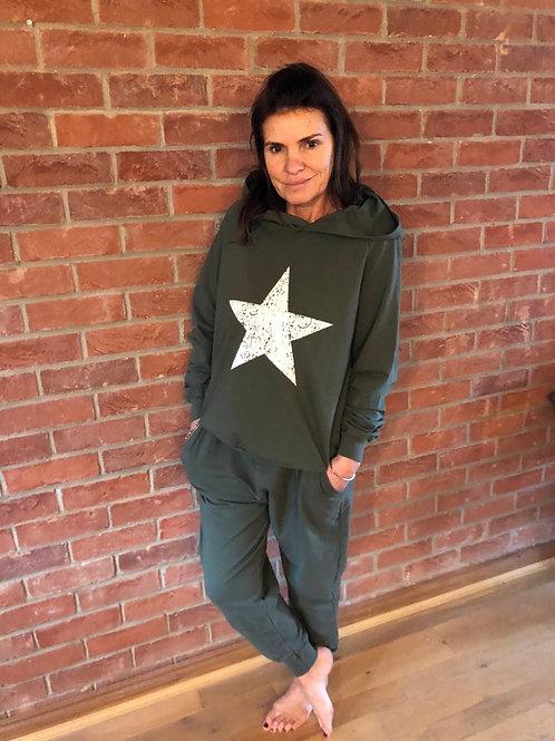 Star Loungesuit - Khaki