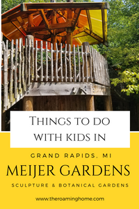 Perfect way to spend a day with you kids in Grand Rapids, MI exploring Meijer Botanical and Sculpture garden