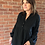 Thumbnail: Broderie Anglaise Blouse - Black