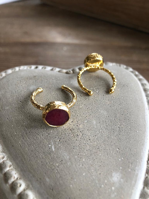 Stacking Ring - Ruby