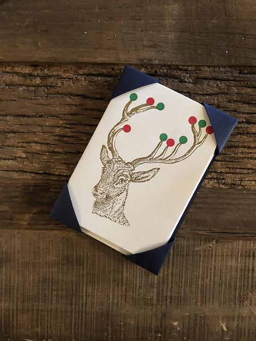 Christmas Cards - Reinder