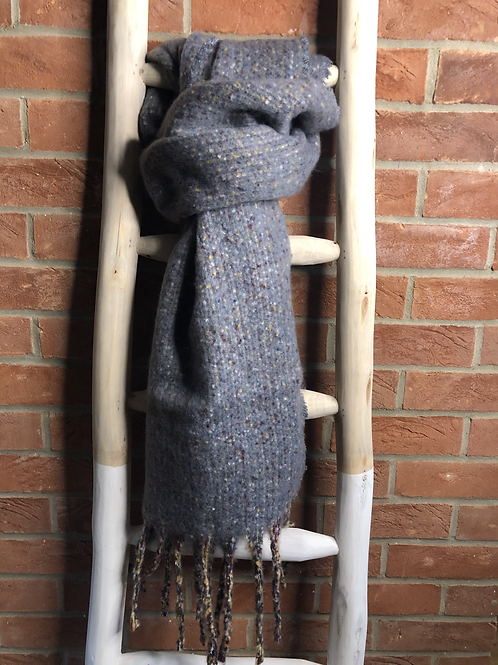 Grey Speckled Scarf