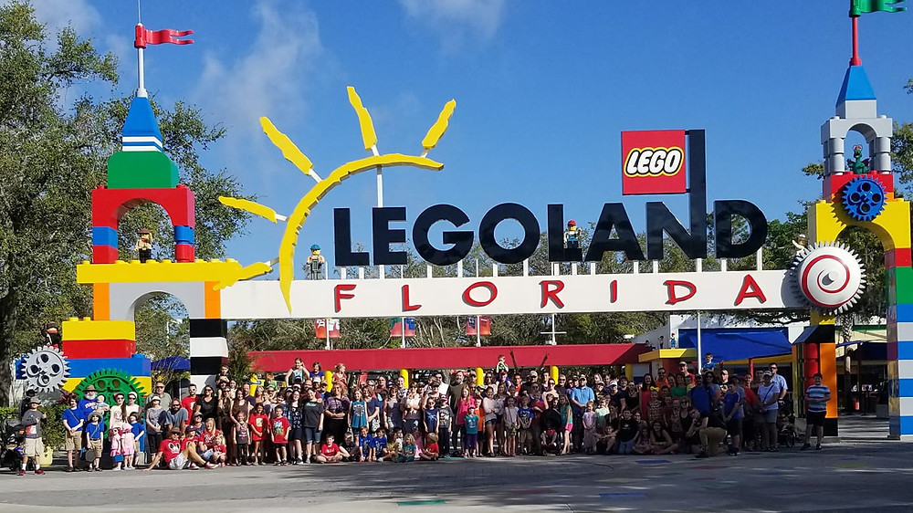 Legoland Orlando homeschool fieldtrip with Fulltime Families RV membership club
