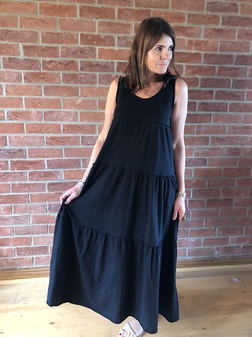 Jersey Maxi Dress - Black