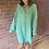 Thumbnail: Oversized Blouse - Green