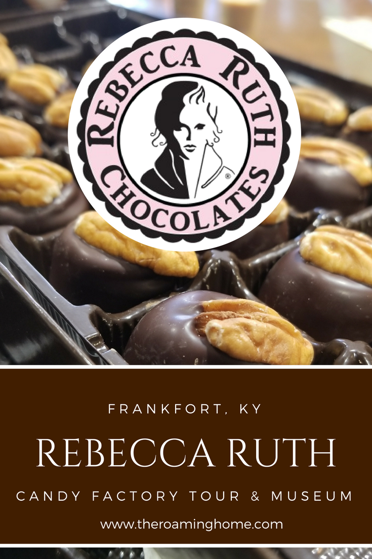 Take a tour of Rebecca Ruth Chocolate Factory in Frankfort Kentucky and get to see how their famous Kentucky Bourbon balls are made for the bourbon trail.