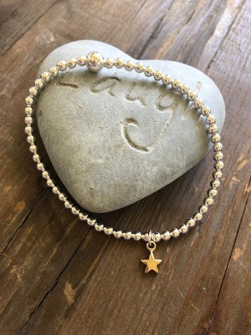 Mini Star Bracelet- Gold
