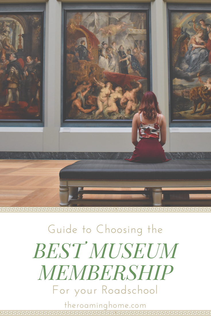 Guide to finding the best reciprocal museum membership for your roadschool (Homeschool on the road) as you travel full-time