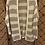 Thumbnail: Chunky Knit Stripe Cardi - Cream