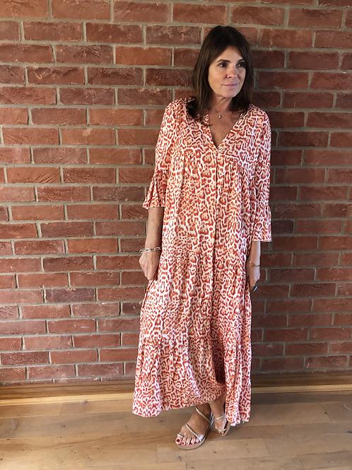 Cara Dress - Orange