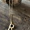 Thumbnail: Bamboo Initial Necklace