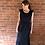 Thumbnail: Frill Maxi Dress - Black