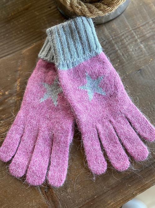 Star Gloves -Pink