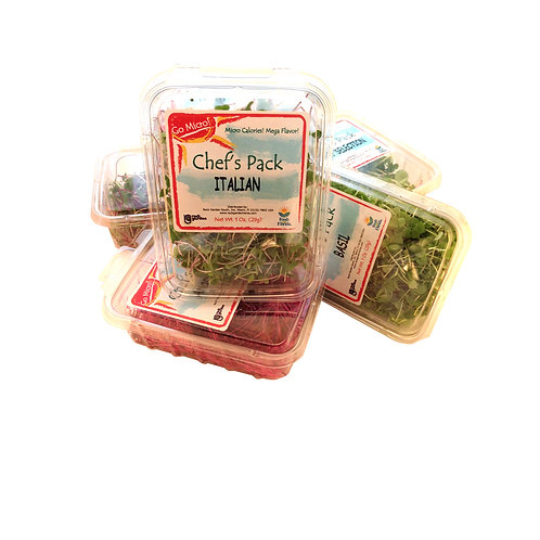 Chef's Pack Microgreens