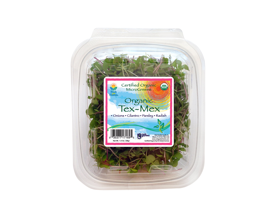 Retail Microgreen Clamshell