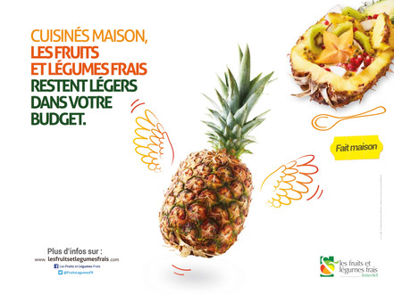 INTERFEL affiche ananas