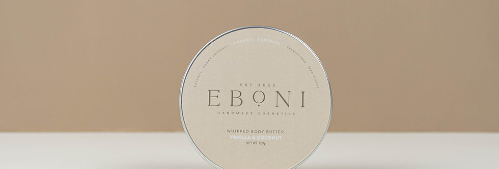 Vanilla & Coconut Whipped Shea Butter