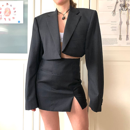 Reworked Blazer Outfit