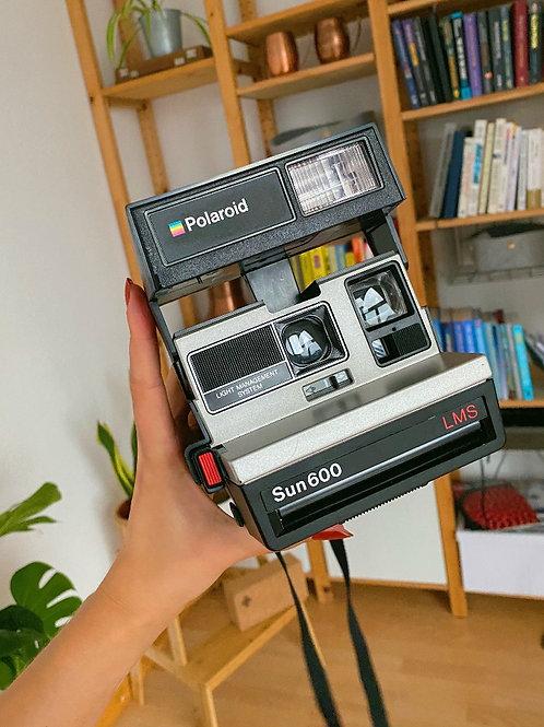 Vintage Polaroid Sun 600 LMS Retro Camera