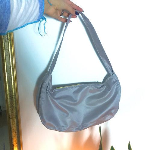 y2k inspired shoulder bag, upcycled, unique clothing store, vintage, handmade