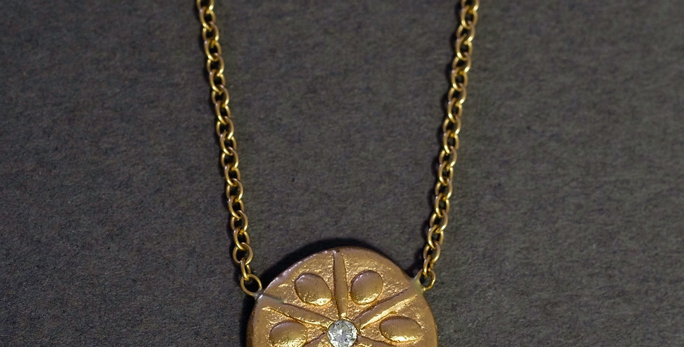 "AQUATICS ""SAND DOLLAR"". GOLD, DIAMOND"