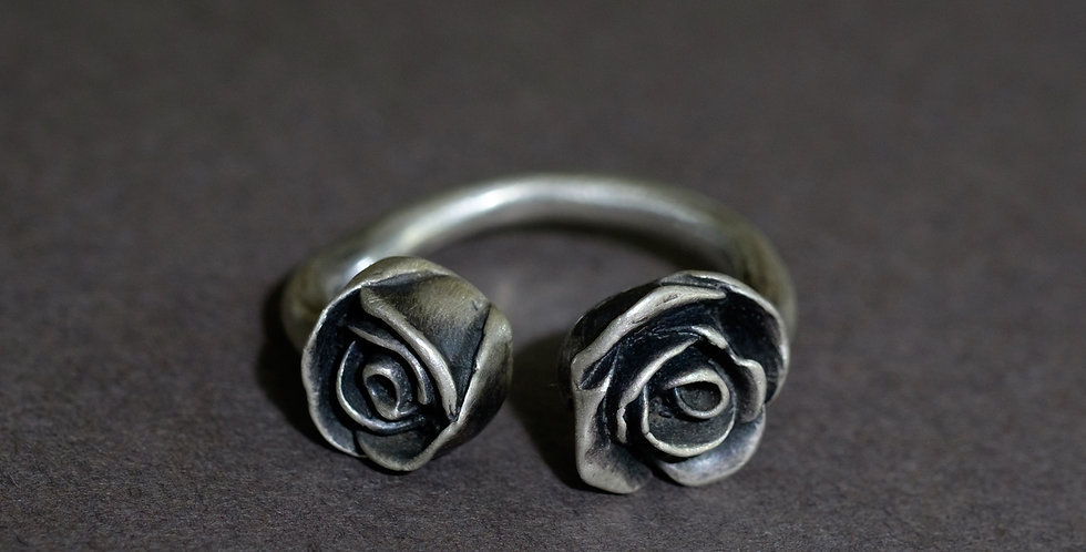 "FLORA ""ROSES"". SILVER"