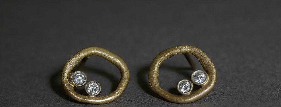 ORBITS. GOLD, DIAMONDS