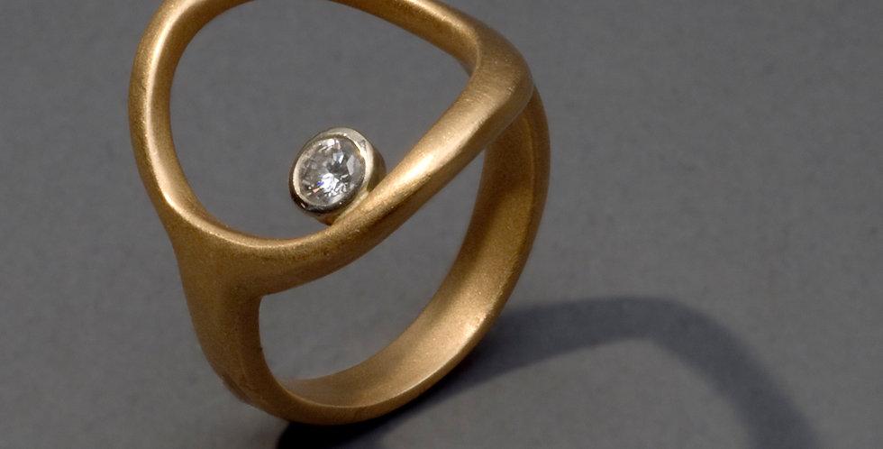 ORBITS. GOLD, DIAMOND