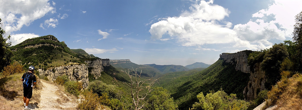 Stunning views near to Rupit