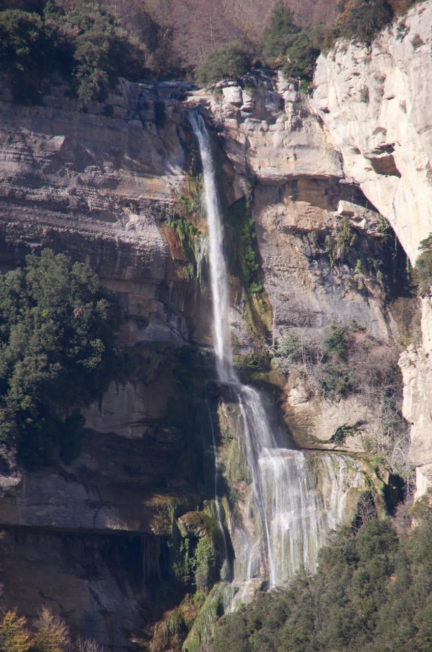 Catalunya's biggest waterfall