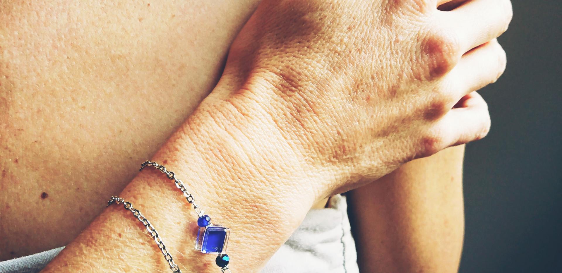 Bracelets 'pixel' catalogue VERRE