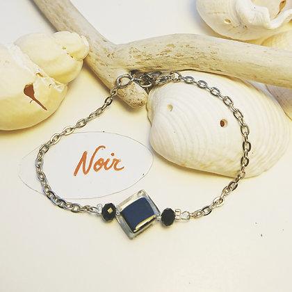 Bracelet • pixel • Noir