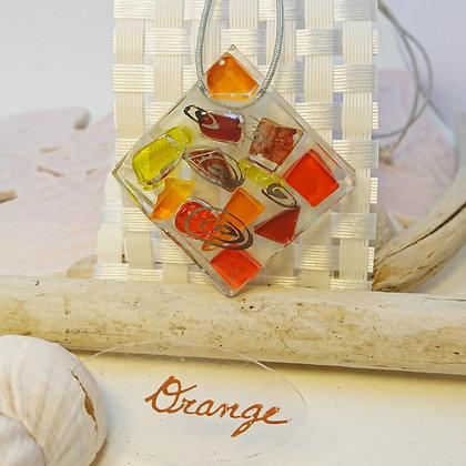 Collier • Eclats •Orange