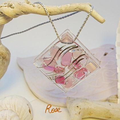 Collier • Eclats •Rose