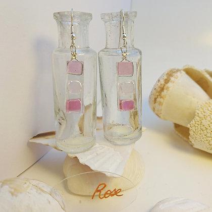 Boucles D'Oreilles • Bonbon• Rose
