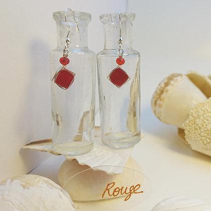 Boucles D'Oreilles • Pixel•Rouge