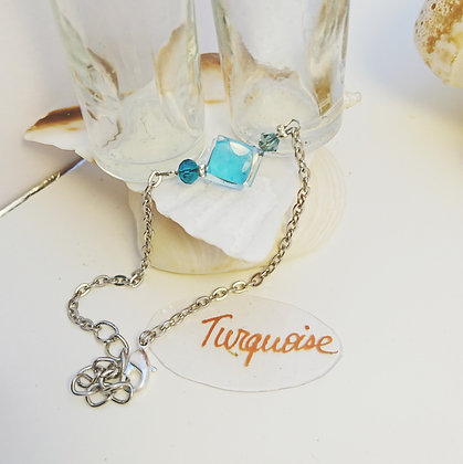 Bracelet • pixel • Turquoise