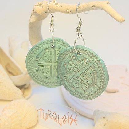 Viking• Croix • Turquoise