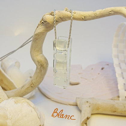 Collier • Bonbon •Blanc
