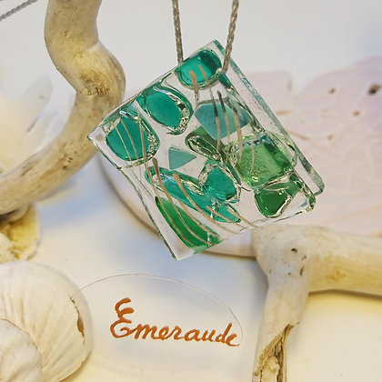 Collier • Eclats•Emeraude